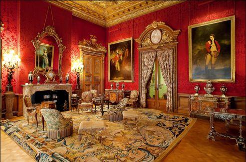 Waddesdon Manor Chez Lord Rothschild