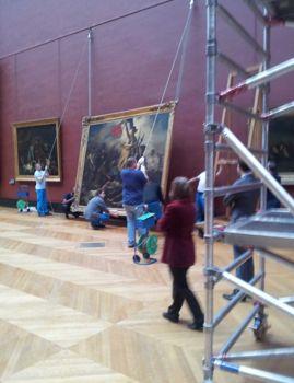 La Liberté de Delacroix quitte le Louvre