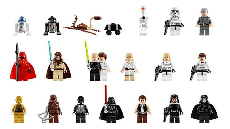 Lego les petites briques devenues lingots - Lego star wars personnage ...