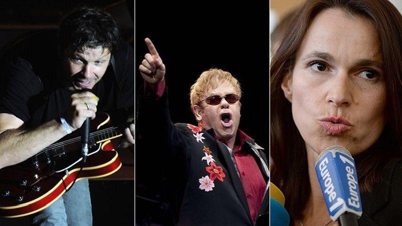 Bertrand Cantat, Elton John, Filippetti... les phrases choc de la semaine