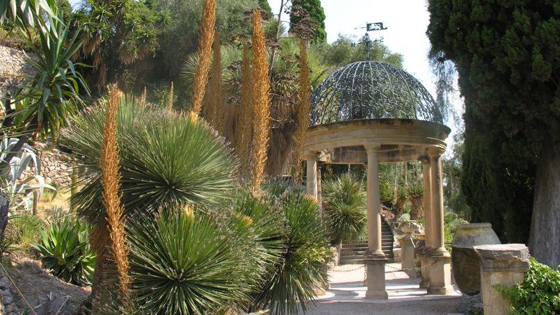 Sur la riviera italienne le charme anglais de la villa for Jardin italien