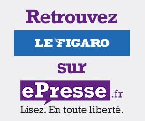Le Figaro en ligne iPad iPhone sur le kiosque ePresse.fr