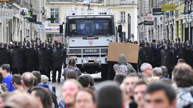 Nantes s'est vite relevée après les violences de samedi