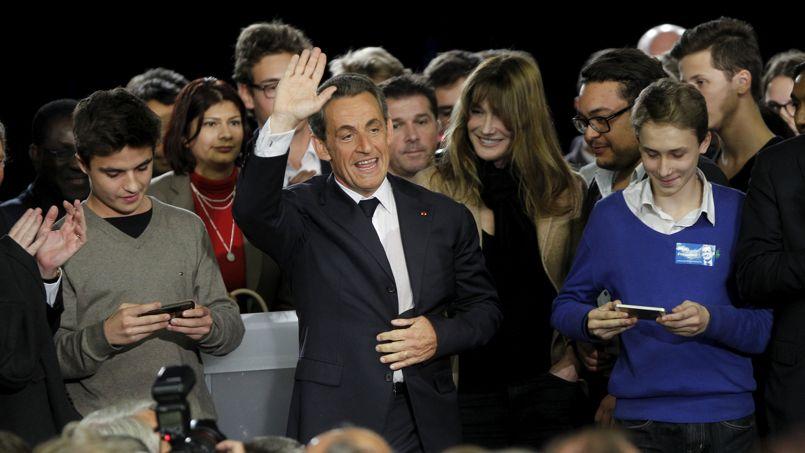Nicolas Sarkozy célèbre «le miracle de la République»