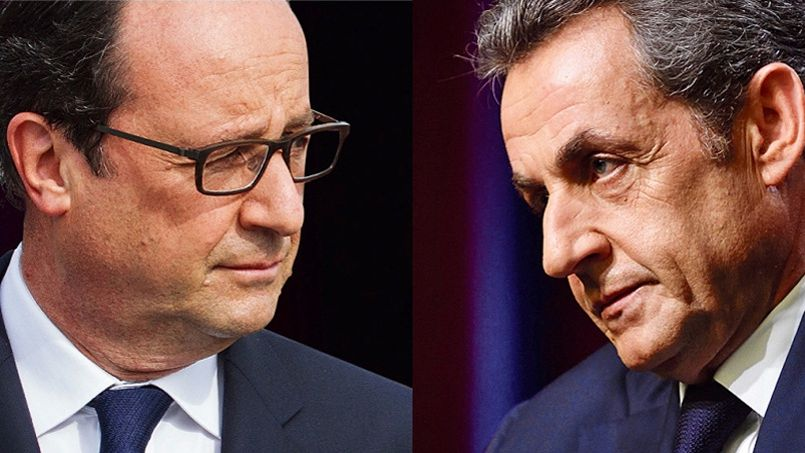 Entre Hollande et Sarkozy, le combat perpétuel