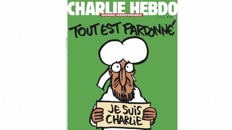 Les sémiologues et spécialistes des médias, Dominique Wolton et Jean-Didier Urbain, ont analysé pour <i>Le Figaro </i>la couverture de <i>Charlie Hebdo</i> sorti ce matin <i></i>. Pour eux, elle ne déroge pas à la ligne éditoriale. <i/>