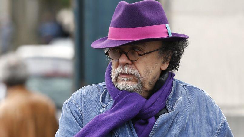 Jean-Michel Ribes, le directeur du Théâtre du Rond Point aux obsèques de Georges Wolinski.