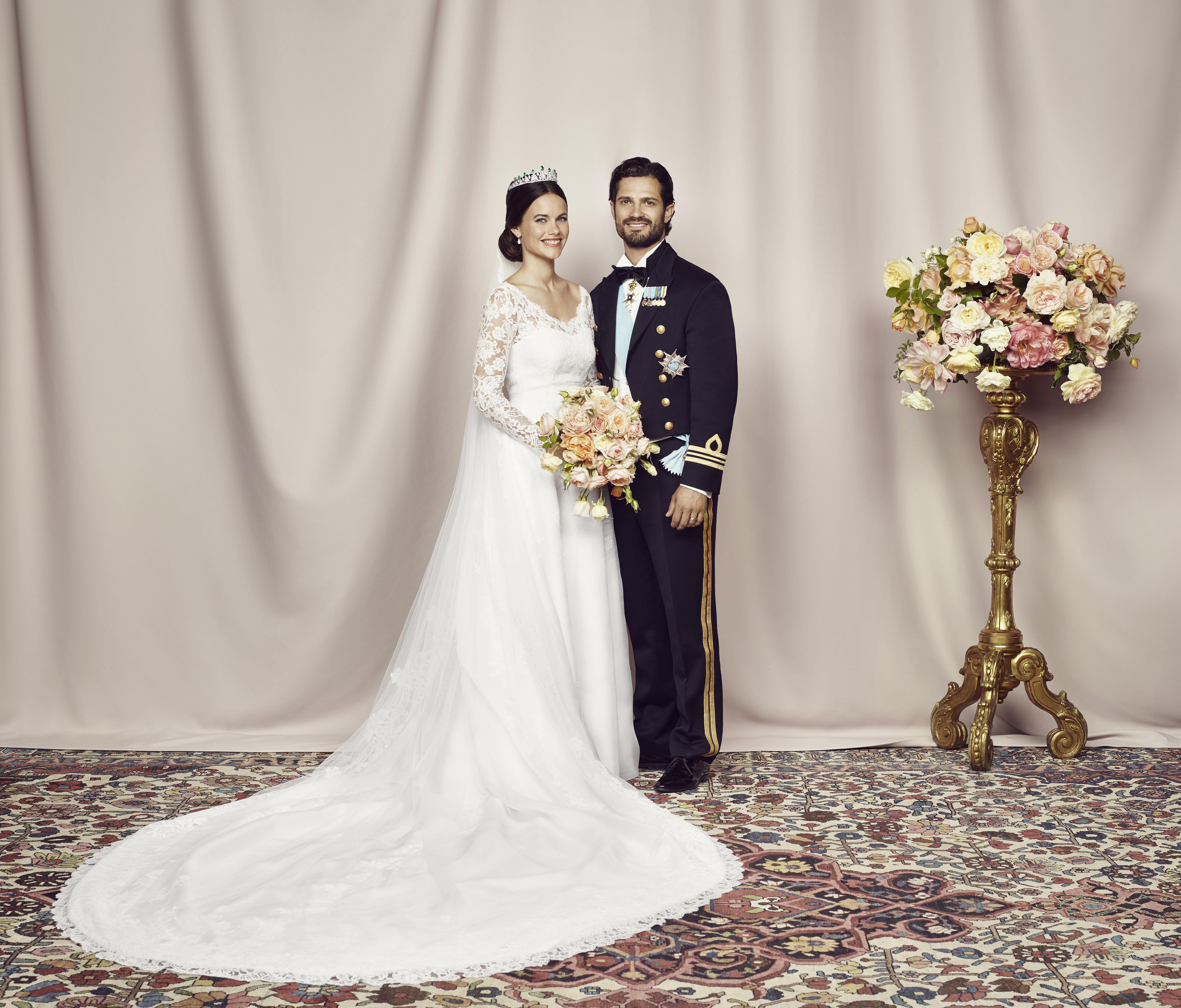 Les photos de mariage du prince Carl Philip de Suède