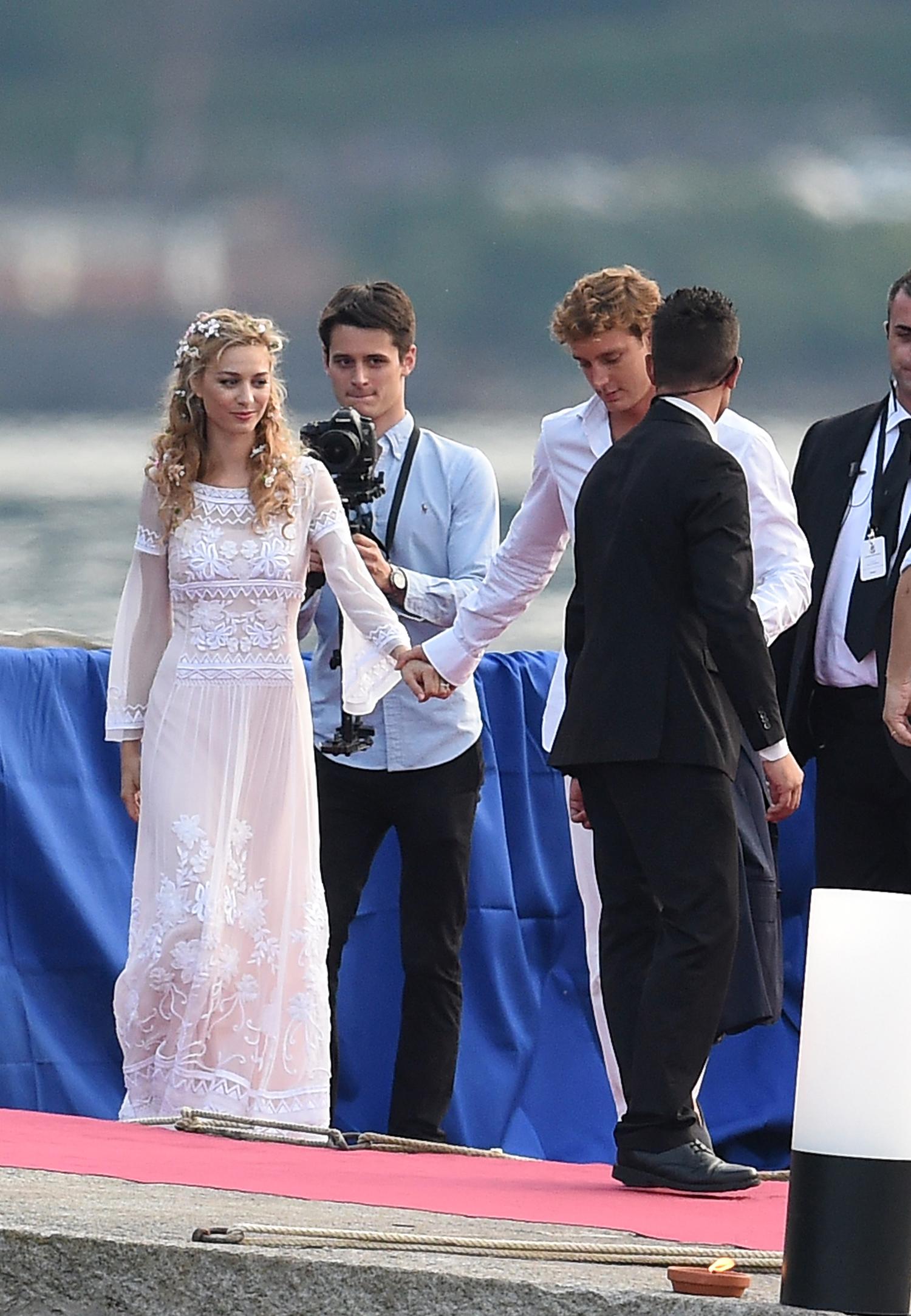 Mariage de Pierre Casiraghi et Beatrice Borromeo
