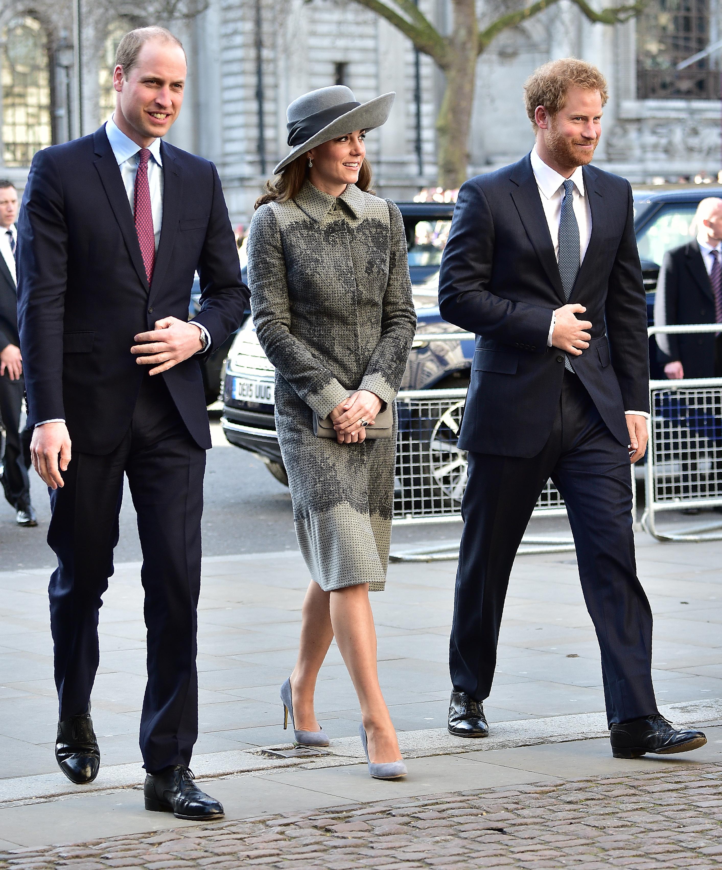 La famille royale réunie pour la journée du Commonwealth