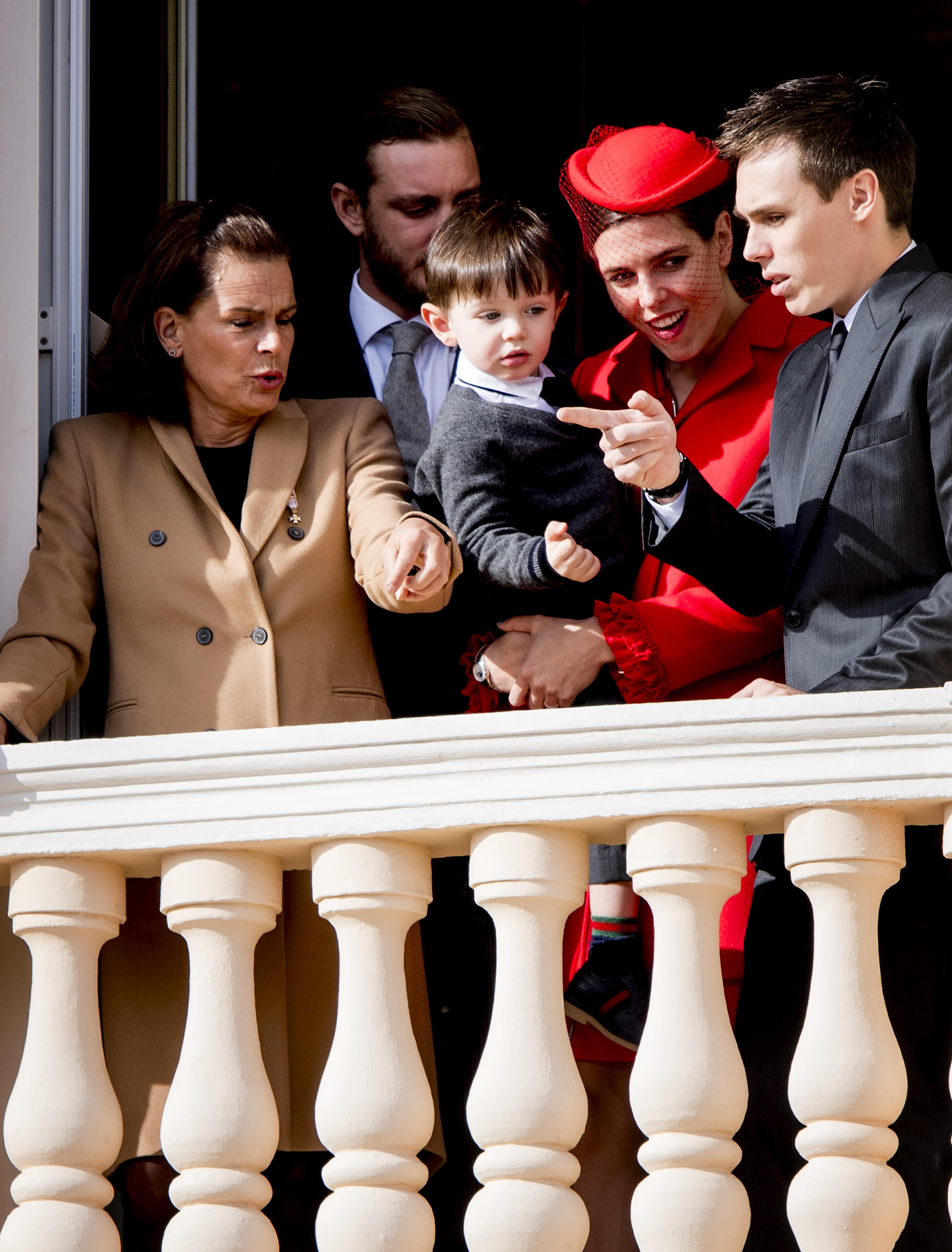 Raphaël, le fils de Charlotte Casiraghi et Gad Elmaleh, à Monaco
