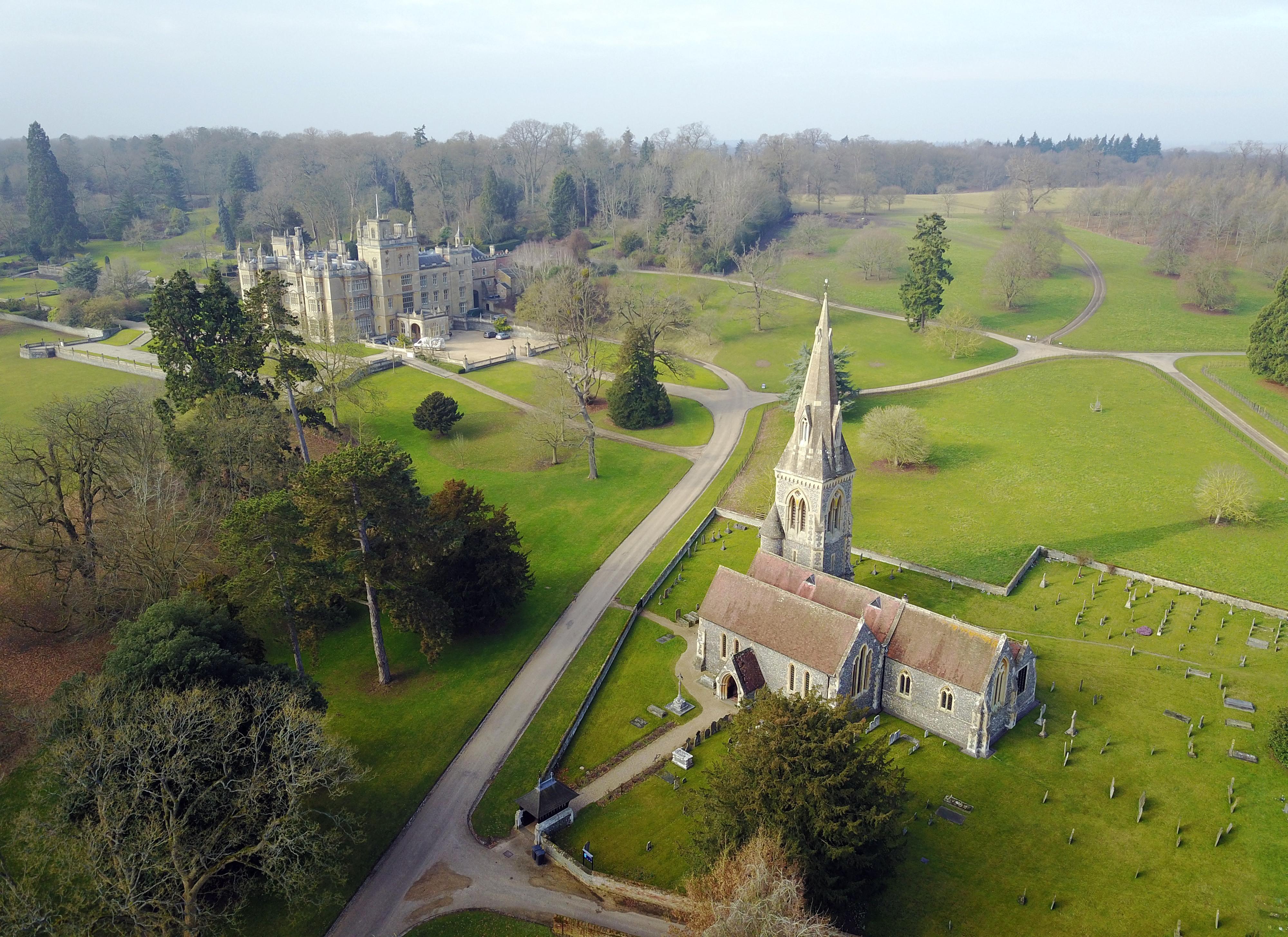 L'église dans laquelle aura lieu le mariage de Pippa Middleton