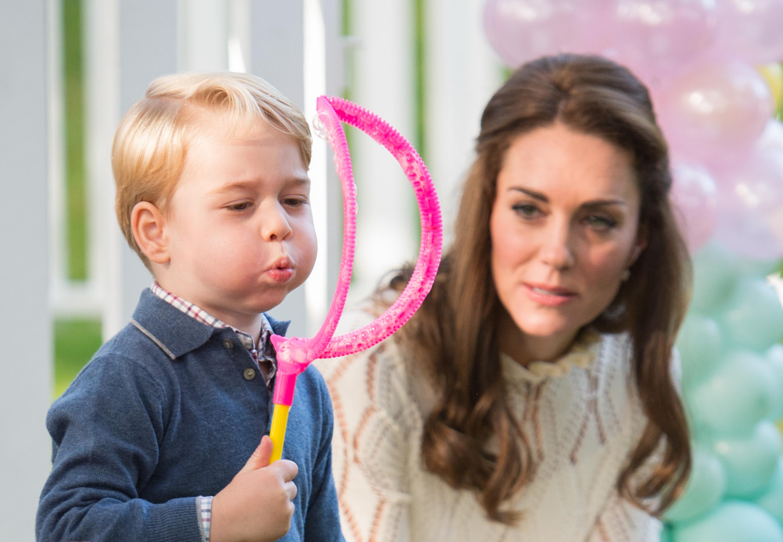 Les photos les plus drôles du prince George et de la princesse Charlotte