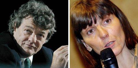Jean-Louis Borloo et Valérie Létard. Le ministre de l'Ecologie et la secrétaire d'Etat à la solidarité figurait sur la même liste UMP à Valenciennes (Nord), respectivement en cinquième et deuxième position. Ils recueillent 55.5% des voix au premier tour.