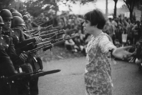 Jeune fille à la fleur (inédit), Washington 1967
