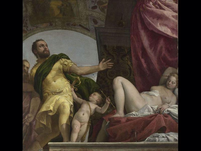 Allégorie de l'amour, dit Le Respect - Véronèse (Vers 1575) 186 x 194 cm