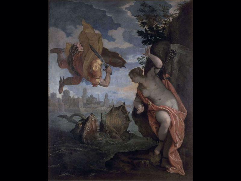 Persée et Andromède - Véronèse (Vers 1580) 260 x 211 cm