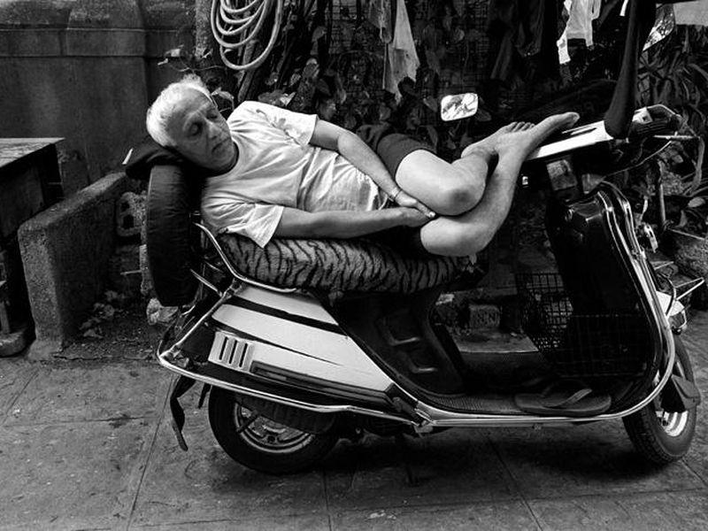 Cette photo, prise par le photographe indien Atul Loke,