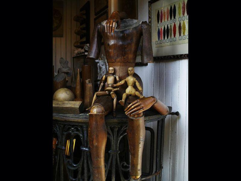 Cabinet de curiosités, quartier Paul-Bert.
