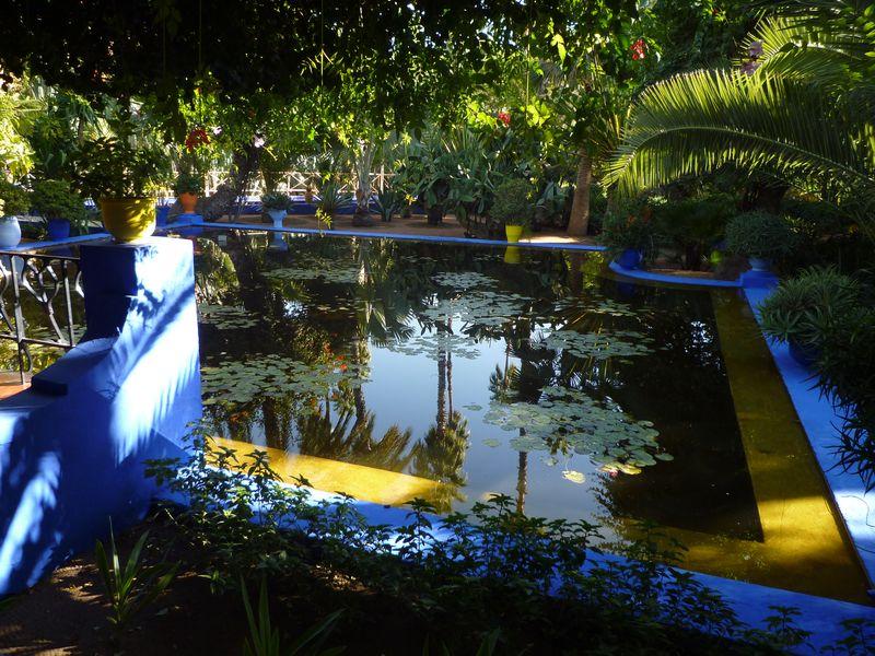 Le nouveaux plaisirs de marrakech for Jardin hispano mauresque