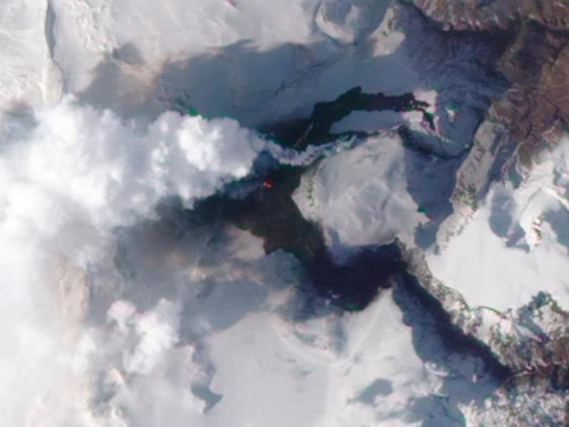 Une nouvelle fissure est apparue près du volcan Eyjafjallajokull