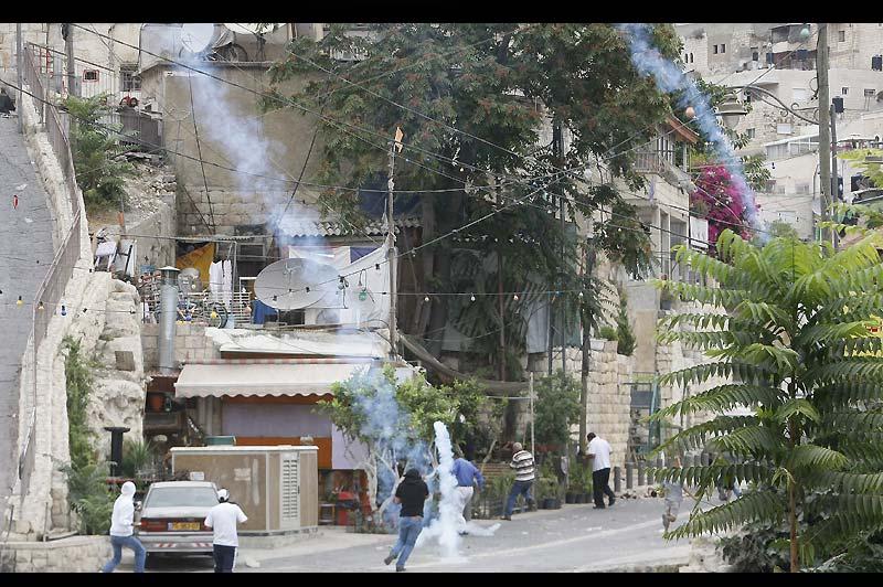 Mercredi 22 septembre, des heurts ont éclaté dans le quartier arabe de Silwan, à Jérusalem après la mort d'un Palestinien de 32 ans, tué par balles par un garde israélien.