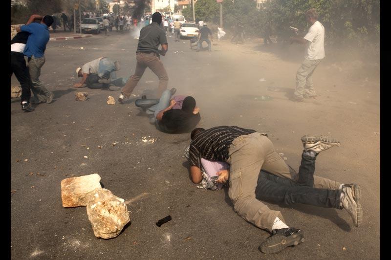 Mercredi 27 octobre, des heurts ont éclaté dans la ville d'Oum el-Fahem, lors d'une manifestation de l'extrême droite israélienne. Le calme est revenu après une heure d'échauffourées et plusieurs arrestations.