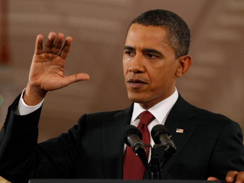 Barack Obama. Le président américain, numéro un l'année dernière, chute à la deuxième place. En cause, la défaite des démocrates aux élections de mi-mandat.