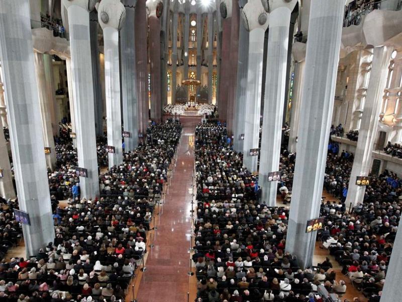 """Résultat de recherche d'images pour """"ceremonie sagrada familia"""""""