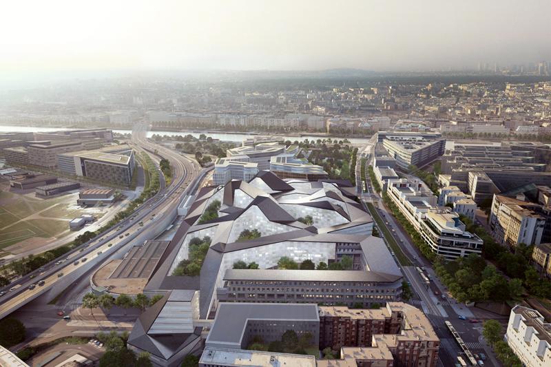 Le voile a enfin été levé sur la grande maquette du projet final remporté par trois agences d'architectes : Nicolas Michelin pour la partie centrale du site, également appelée « parcelle ouest », Jean-Michel Wilmotte pour les quatre immeubles locatifs de bureaux de la corne Ouest - c'est à dire la parcelle la plus occidentale- et Pierre Bolze de l'atelier 2/3/4 pour la rénovation des bâtiments de l'ancienne Cité de l'air, à l'Est.
