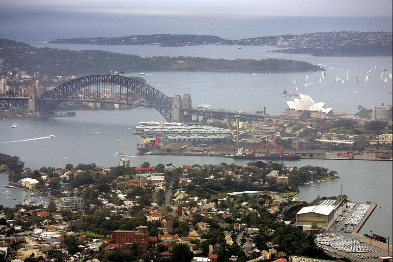 6- Sydney, est la ville la plus peuplée d'Australie. «Malgré la hausse du coût de la vie, alimentée par la force du dollar australien, ces villes offrent toute une série de facteurs qui les rendent très attractives», affirme Jon Copestake.