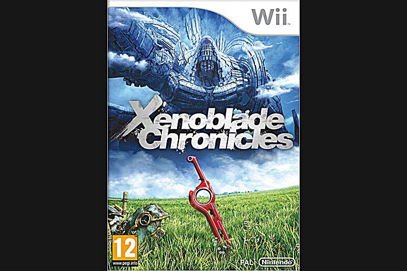 Xenoblade Chronicles (Wii, PEGI 12)Jamais la Wii n'avait accueilli un jeu d'une telle envergure. Plongé dans des décors somptueux qui s'étendent à perte de vue, le joueur doit parcourir le monde avec ses compagnons d'aventure pour percer les secrets d'une épée légendaire. L'histoire bien construite, les innombrables quêtes annexes et les combats dynamiques assurent une expérience sans cesse renouvelée, qui tiendra le joueur en haleine pendant plusieurs dizaines d'heures.Environ 50€
