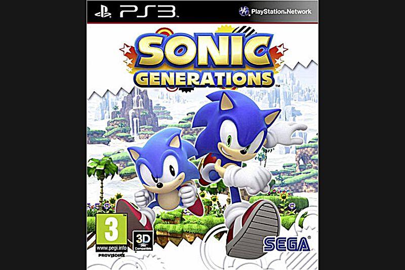 Sonic Generations(PS3, Xbox 360, Nintendo 3DS, PC, PEGI 3)Dans les années 1990, les enfants étaient soit pour Sonic, soit pour Mario. Si aujourd'hui cette