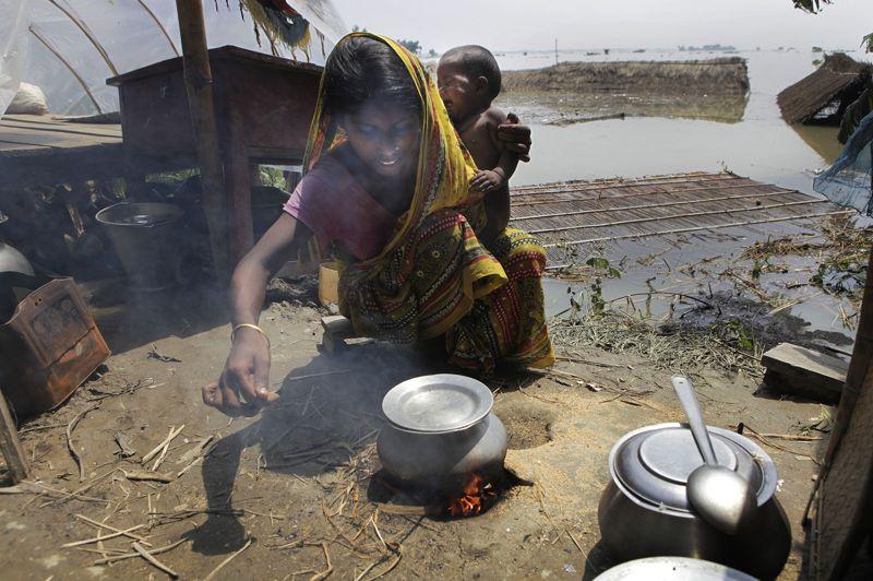 Chaque année, la mousson provoque le décès de nombreux habitants de diverses régions indiennes. L'année dernière, le bilan s'élevait à plus de 300 morts, dont un seul dans l'État de l'Assam.