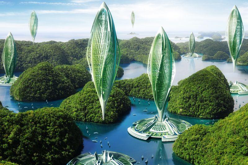Le projet «Hydrogénase» consisterait au développement d'aéronefs verticaux habités et mobiles, à émission de carbone nulle. Alimentés par des biocarburants de «troisième génération» encore «en gestation», ces moyens de locomotion pour le moins complets mesureraient 400 mètres de hauteur pour un volume de 250 000 m³. L'«Hydrogénase», qui pourrait naviguer à l'horizon 2030 à 2000 mètres d'altitudes, aurait la capacité de transporter 200 tonnes de fret à 175 km/h. Son rayon d'action, enfin, varierait entre 5 km et 10 000 km.