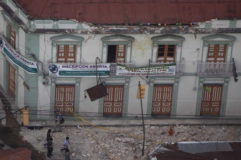 La zone la plus touchée a été le département de San Marcos, sur la côte guatémaltèque, à environ 250 km à l'ouest de la capitale. Dans cette région, des véhicules ont été détruits, des routes coupées et les télécommunications interrompues.