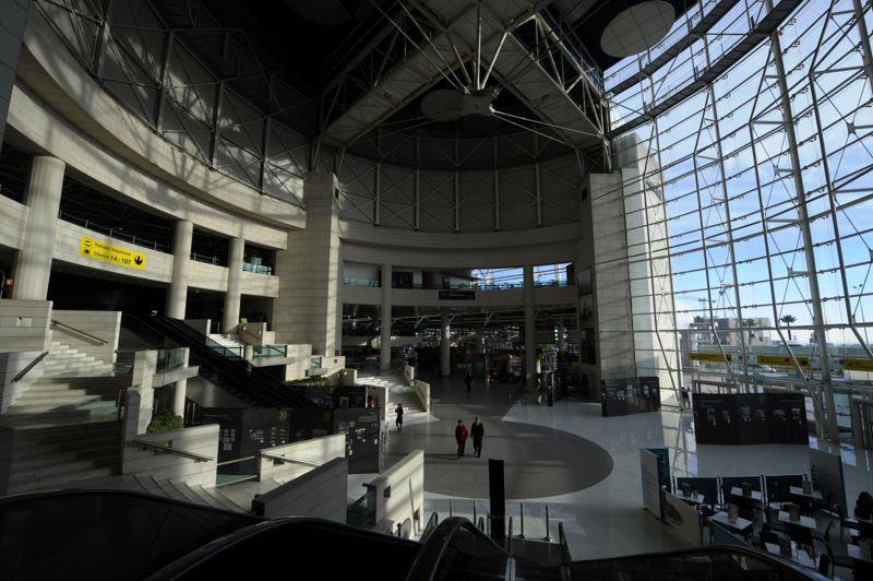Les manifestations ont constitué le point fort de la grève générale, la deuxième depuis mars, qui a particulièrement perturbé les transports et les services publics comme ici à l'aéroport de Lisbonne.