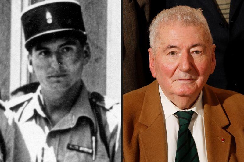 Hubert Germain, né le 6 août 1920, il renonce à se présenter au concours de l'Ecole navale en juin 1940 et rejoint Londres. En février 1942, il rejoint les rangs de la 13ème Demi-Brigade de Légion étrangère et participe aux combats de Bir Hakeim. Blessé en 1944 en Italie, il participe au débarquement de Provence et termine sa campagne dans les Alpes avec la 1ère DFL. Elu député de Paris en 1962, il sera ministre dans les trois gouvernements Messmer de 1972 à 1974.