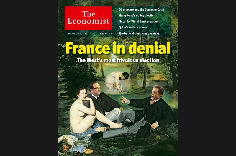 La dernière campagne présidentielle française fut pour l'hebdomadaire britannique «l'élection la plus frivole de l'Occident», celle d'un pays plongé en plein «déni».