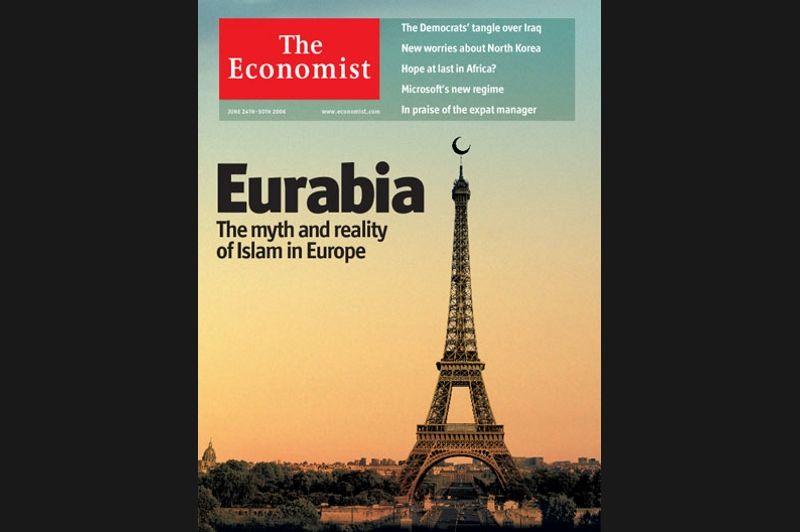 Les unes provocatrices du magazine britannique ont semble-t-il une affection particulière pour la Tour Eiffel.