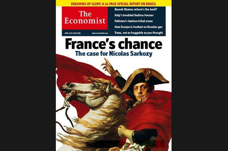 Pourtant au moment de son élection en avril 2007, The Economist voyait en Nicolas Sarkozy le possible sauveur de la France.