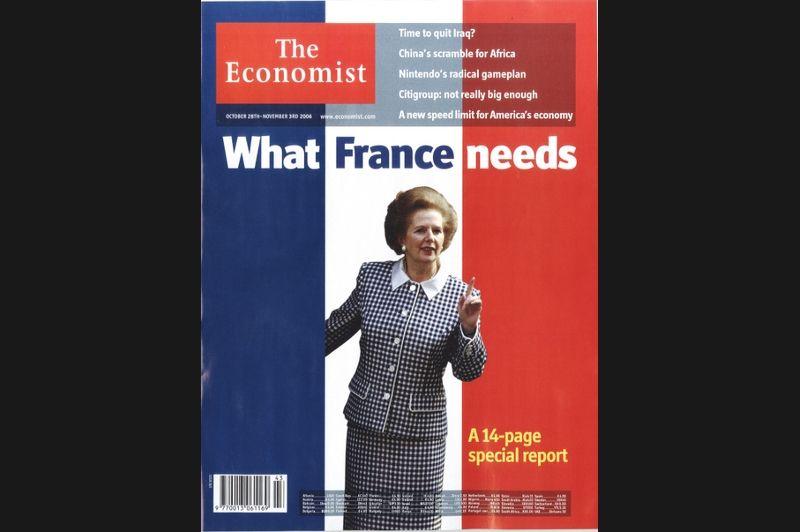 En octobre 2006, le magazine britannique n'hésitait pas à dicter «ce dont la France a besoin», en l'occurence une cure d'austérité digne de l'ère de Margaret Tatcher.