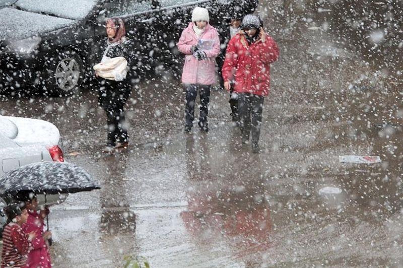 De fortes chutes de neige ont rendu certaines artères impraticables à Damas, en Syrie. Dans un pays en pleine guerre civile, le froid était d'autant plus difficile à supporter que de nombreuses régions souffrent d'une pénurie de carburant pour le chauffage et de coupures d'électricité. Dans le même temps, les centaines de milliers de Syriens qui ont fui les violences pour se réfugier dans des camps installés dans les pays limitrophes n'ont le plus souvent que des tentes pour s'abriter.
