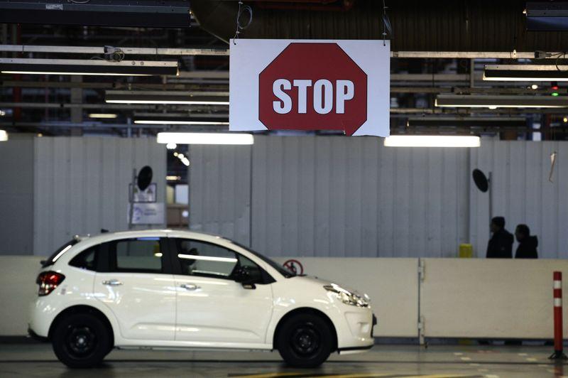 Depuis le 16 janvier, seules 31 voitures ont été fabriquées sur cette période, alors que l'usine peut en produire 700 par jour.