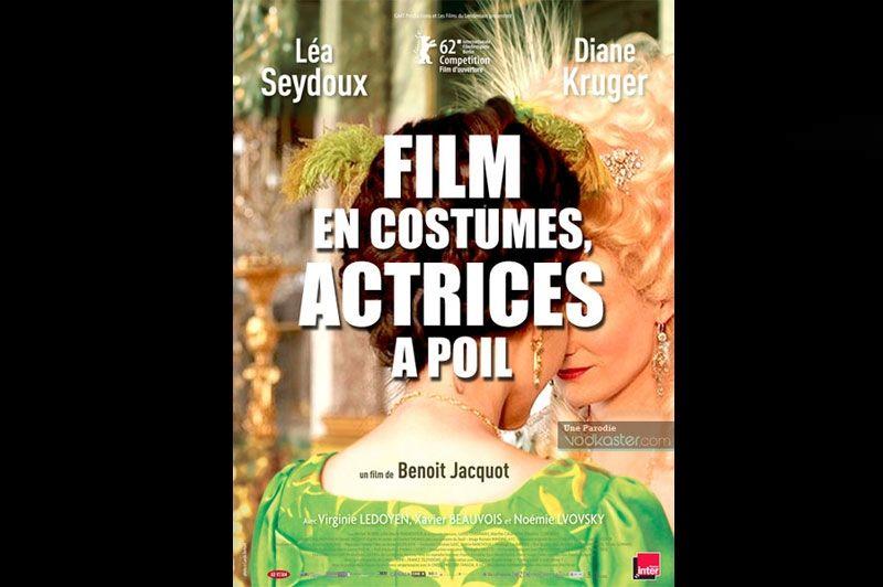 L'Académie des arts et techniques du cinéma a sélectionné les  Adieux à la reine  de Benoit Jacquot dans 10 catégories. Ce film d'époque qui retrace les relations de Marie-Antoinette et de sa lectrice Agathe-Sidonie Laborde est réduit à un «film en costumes, actrices à poil». Pas faux.