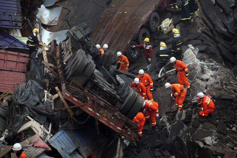 Les explosions de matériel pyrotechnique ne sont pas rares en Chine notamment au moment des fêtes du nouvel an lunaire, qui a lieu cette année le 10 février.