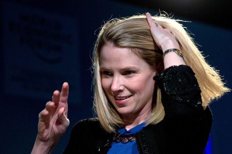 On considère souvent Yahoo! - ici sa nouvelle CEO, Marissa Mayer - comme une société écrasée par Google. À tort: le site de Yahoo! a généré en 2012 quelque 4,7 milliards d'euros, l'équivalent de 150 euros par seconde. Depuis 1997, il a acquis pas moins de 60 sociétés.
