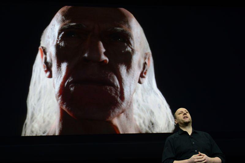 David Cage, fondateur du studio Quantic Dream, a profité de ce cette soirée pour montrer son nouveau moteur de jeu. «Nous pourrons subtilement créer des émotions. Les joueurs pourront en être témoins rien qu'en regardant un personnage», a-t-il promis.