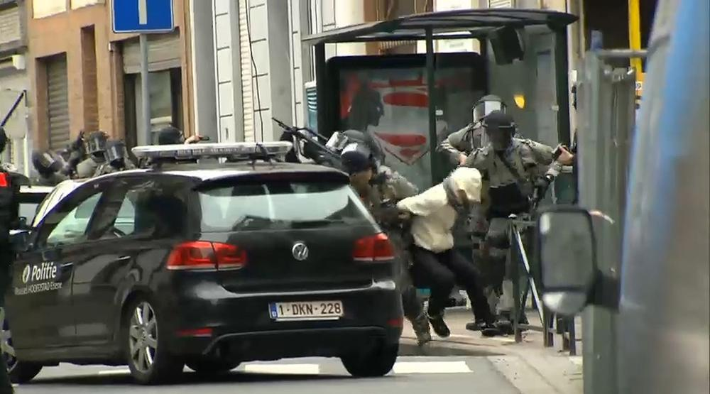 Un assaut a été mené par les unités spéciales à Bruxelles dans le quartier populaire de Molenbeek.