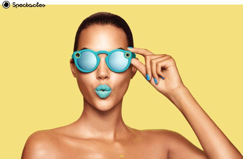 Snapchat va lancer ses propres lunettes connectées